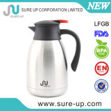 Double Wall Stainless Steel Coffee Pot with Lever System