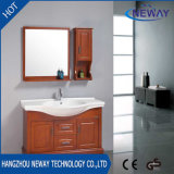 Factory Floor Standing Solid Wood Bathroom Vanity Modern