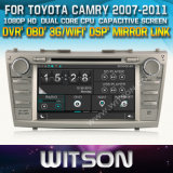 Witson Car DVD Player with GPS for Toyota Camry (W2-D8117T) Touch Screen Steering Wheel Control WiFi 3G RDS