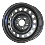 6.5X16 Classic Black Snow Wheels Steel Car Wheel Rims