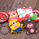 Promotion Cute Cartoon PVC Keyholder