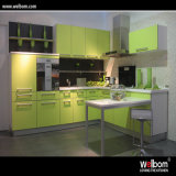 Welbom Ready Made Modern Custom MFC Kitchen Cabinet