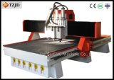 Pneumatic Atc Woodworking CNC Router Machine with Three Spindles