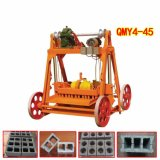 Qmy4-45 Electric Movable Cement Block Machine with Reasonbale Price