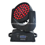 RGBW 4 in 1 Bar Stage Light 37PCS X 9 W LED Moving Head Wash Zoom