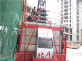 2014 New Type Construction Hoist with Mast Section and Rack for Buildings