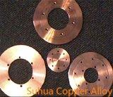 High Electric Conductivity Seam Wheels C18150 Cucrzr