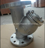 Class150 4inch Y Type Stainless 304 or CF8 Flange Steel Strainer