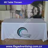 6FT or 8FT Customized Polyester Table Cover, Table Throw, Table Cloth