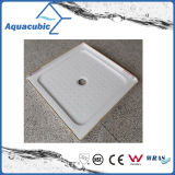 Sanitary Ware ABS Plastic 2 Side Lips Central Waste Shower Base (ACT9191)