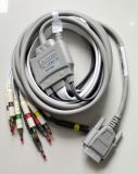 Standard ECG Cables with 10 Lead Wires