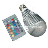 16 Colors Changing 10W Magic E27 RGB LED Lamp Light Bulb + IR Remote Control