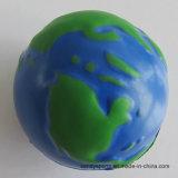 PU Foam Earth Shape Stress Squeeze Ball
