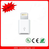 Small Micro Female to 8 Pin Ligntning Male Adapter for iPhone6