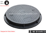 En124 D400 Polymer Petrol Manhole Cover/ Gas Station Waterproof Manhole Cover/ Gas Meter Cover
