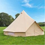 The Flame Retardant Tent of The Bell Tent Type Camp 3 Meters Diameter 4 Meters in Diameter Mongolian Yurt Bell Tent 5 Meter or 6 Meters Glamping Tent