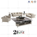 Classical Designer Living Room Couches Velvet Fabric Sofa Set