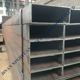 Cheap Factory Price Galvanized Steel Properties 400*100*5 Hollow Section Square Pipe Hot-DIP Pipes and Tubes