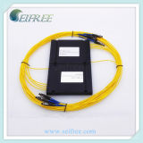 Optical Transmission Network Fiber Optic Splitter with Mu Connector