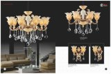 Fashion and Prefect Zinc Alloy Crystal Chandelier Lights