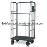Foldable Storage Logistic Roll Container, Roll Pallet, Trolley, Luggage Cart