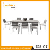 New Style Hot Sale Outdoor Garden Swimming Pool Dining Room Furniture Stretch Table Set