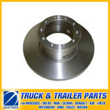 Trailer Parts of Brake Disc Ampb889 Pak3545 Pak5412 for Daf