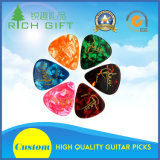 Custom Wholesale Celluloid Nylon/Electric/Wooden/Stainless Steel/POM/Thumb Guitar Picks with Colorful Logo Printed Double Sides