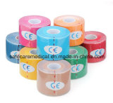 5m * 5cm Waterproof Breathable Sports Kinesiology Muscles Care Fitness Athletic Health Cotton Elastic Adhesive Tape