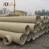 Large Diameter PVC Double Wall Corrugated Sewage Pipe