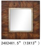 2019 Factory Direct Wholesale Wood Frame Decoration Mirror