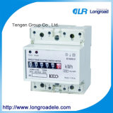 Mini Type Din Rail Installation Single Phase Electronic Watt-Hour Meter