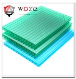 Poly Carbonate Roof Frosted Crystal Polycarbonate Sheet Twin Wall Polycarbonate Hollow Sheet