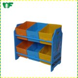 Made-in-China Wholesale Wooden Kids Clothes Display Shelf and Rack