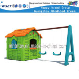 Primary School Small Children Playhouse with Swings (HF-20204)