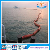 Spill Oil Containment Rubber Solid PVC Flotation Boom