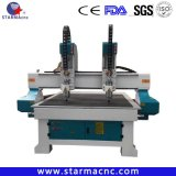 Two Head CNC Router Engraving Machines for Sale