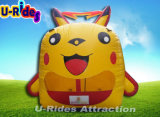 Cheap Wholesale Inflatable Pika Bounce House Jumping Castle Inflatable Trampoline For sale