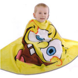 100% Cotton Printing Velour Beach Towel for Baby/ Kids