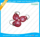 Access Control Cheap Rewritable 125kHz RFID Keyfob Tag