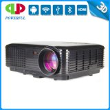 The Newest 3500 Lumens Projector with Android, WiFi for Home Use, HD, VGA, 3D. Best Quality!