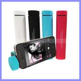 3 in 1 Stand Tube Speakers 3000mAh Power Bank Speaker for iPhone 6s Plus Samsung S7 S6 Edge Note 5 Samrt Mobile Phone
