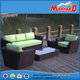 Outdoor Sofa PE Rattan and Aluminum Frame Garden Furniture
