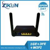 4LAN + WiFi FTTH Gpon WiFi ONU Ont Modem Zc-500W Same as F600W