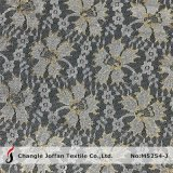 Cheap Indian Metallic Gold Lace Fabric for Sale (M5254-J)