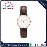 2015 Popular Charm Alloy Watch with Leather Strap (DC-1427)