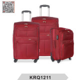 1200d Polyester Soft Travel Trolley Luggage Suitcase (KRQ1211)