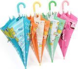 Cute Children Umbrella with Full Colors Printing and Ice Cream Handle Children Gifts Cheap Price