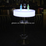 RGB Acrylic LED Cocktail Bar Table China Banquet Table Manufacturers