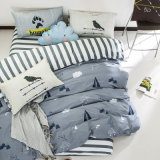 Full Queen King Bedroom Set Printed Cotton Bedding
